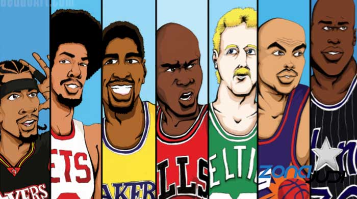 para legenda basket animasi